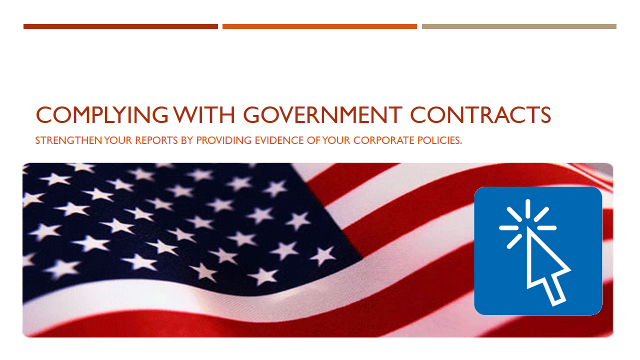 Complying with Government Contracts