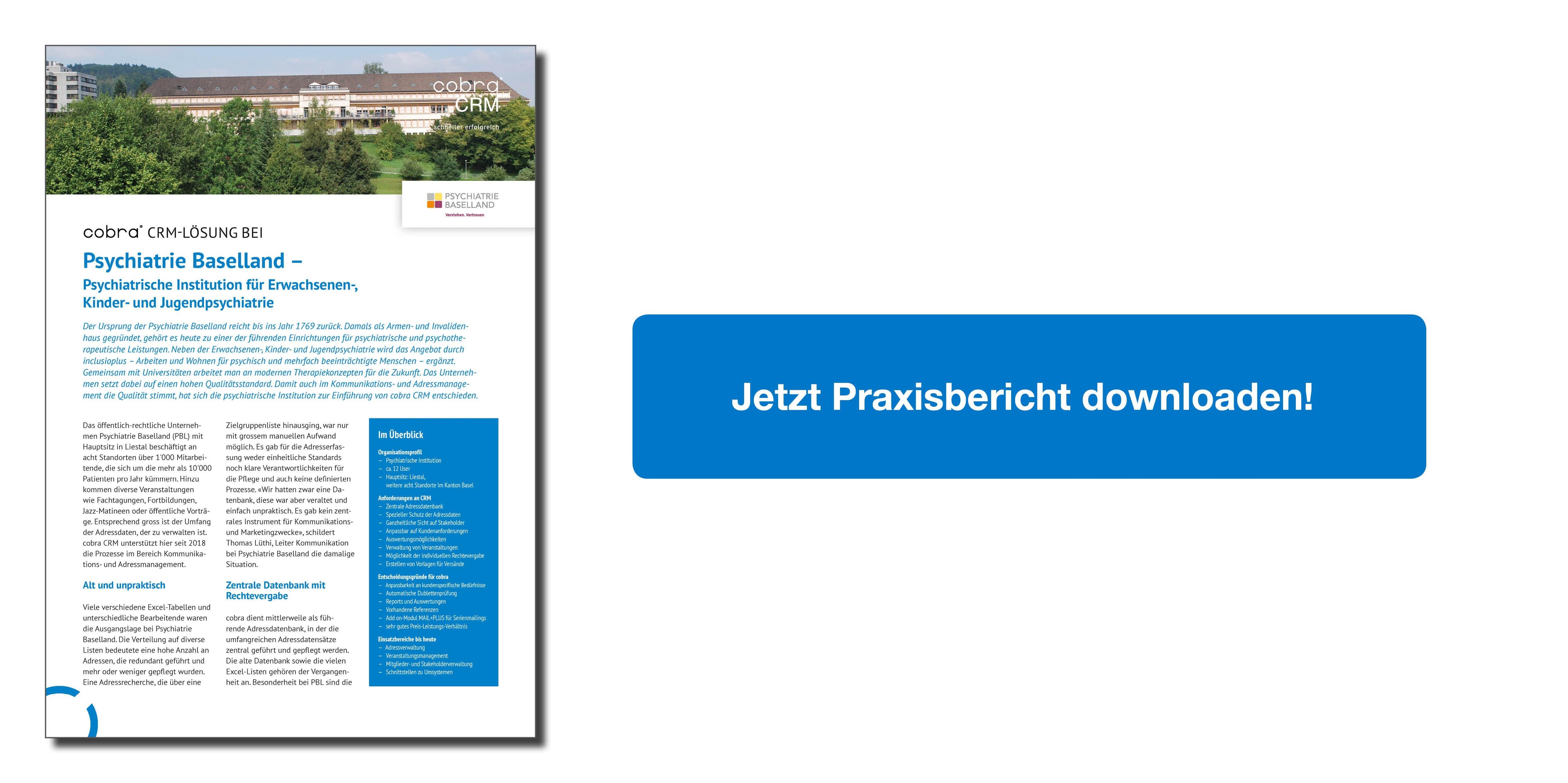Referenzbericht Psychiatrie Baselland
