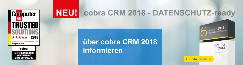 cobra CRM 2018 EU-DSGVO konform