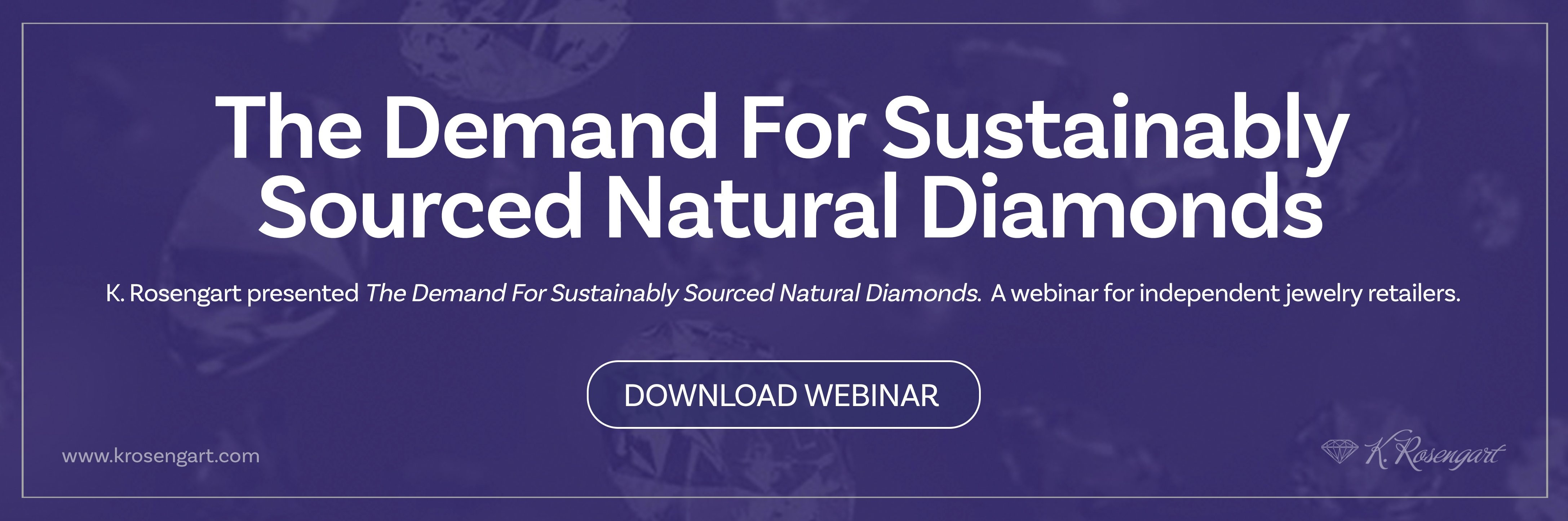 demand for sustainably sourced natural diamonds concept image