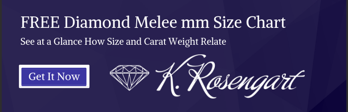 Diamond Size Chart | mm to Carat Conversion | K. Rosengart | Free Download