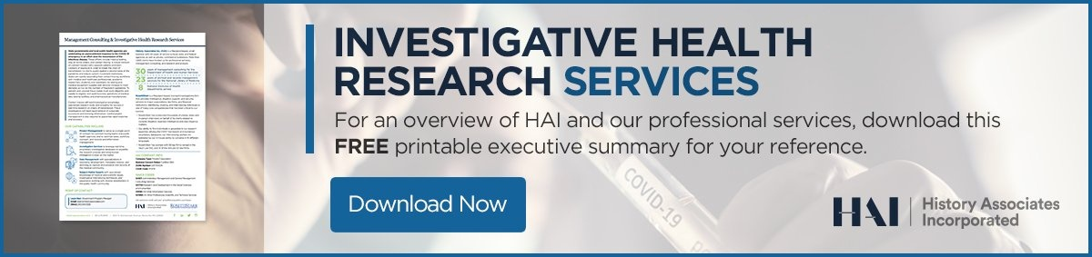 For an overview of HAI and the services we provide to our clients, simply download this printable executive summary for your reference.