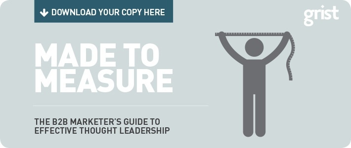 the B2B Marketer's Guide to Effective Thought Leadership