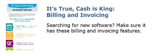 It's True, Cash is King: Billing and Invoicing