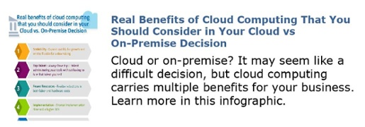 Real Benefits of Cloud Computing That You Should Consider in Your Cloud vs On Premise Decision