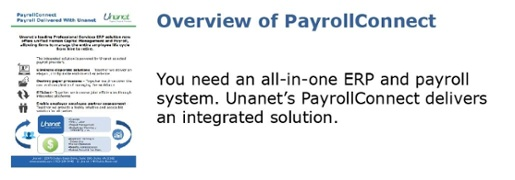 Overview of PayrollConnect