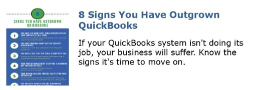 8 Signs You Have Outgrown QuickBooks