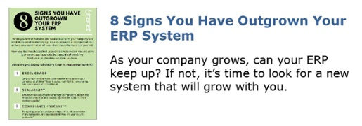 8 Signs You Have Outgrown Your ERP System