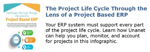 The Project Life Cycle Through the Lens of a Project Based ERP