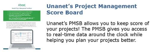 Unanet's Project Management Score Board