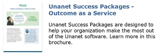Unanet Success Packages - Outcome as a Service