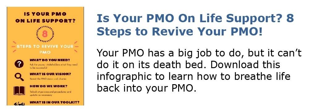 Is Your PMO On Life Support? 8 Steps to Revive Your PMO!