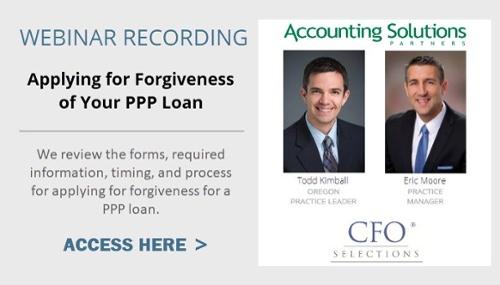 PPP Loan Forgiveness Webinar Recording