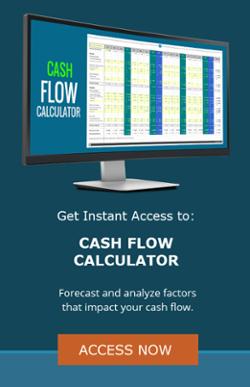 cash flow calculator asp