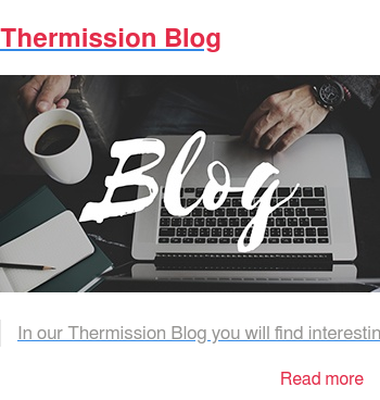 Thermission Blog   In our Thermission Blog you will find interesting articles about the surface  protection zinc thermal diffusion and our new systems generation. Read more