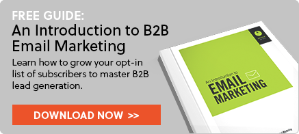 Download Introduction to B2B Email Marketing