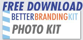 download the Photo Better Branding Kit!