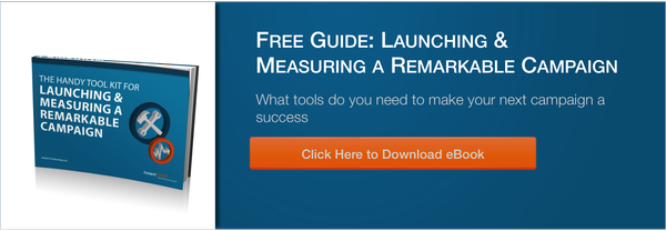 Free Guide - The Handy Toolkit for Launching and Measuring a Remarkable Campaign