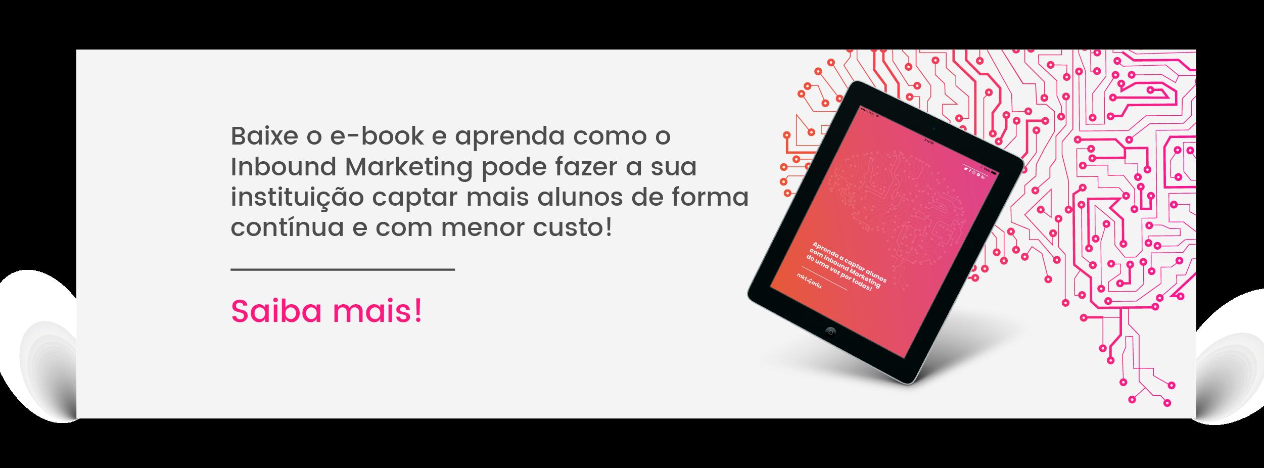 eBook da MKT4EDU: Aprenda a captar alunos com inbound marketing de uma vez por todas!