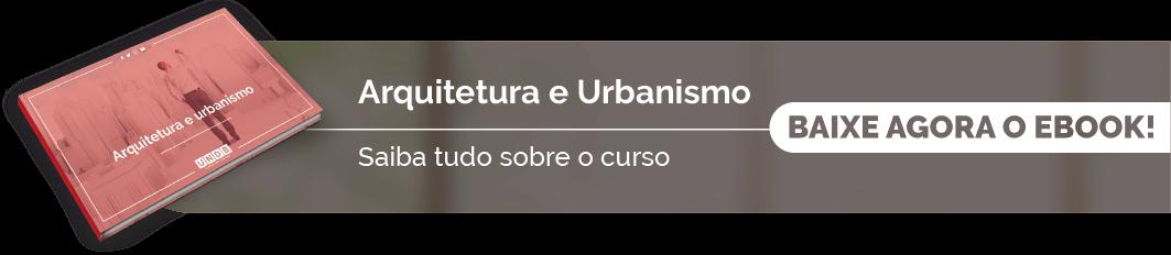 Confira o eBook de Arquitetura e Urbanismo da UNDB