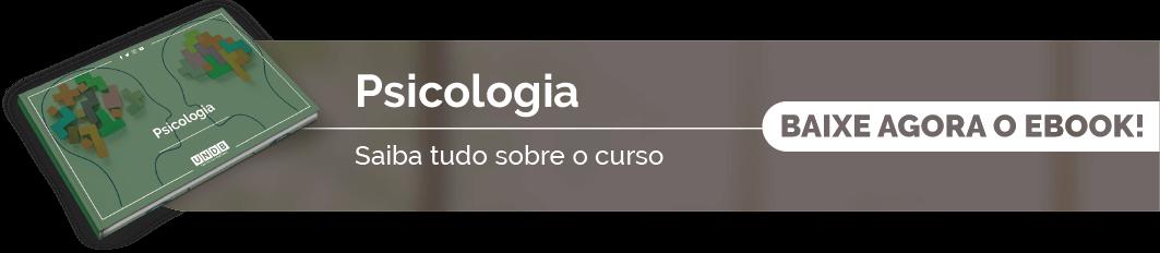 Confira o eBook de Psicologia da UNDB