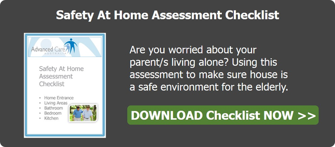 Safety At Home Assessment Checklist