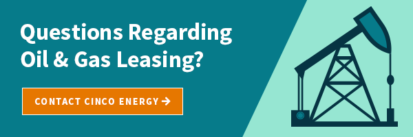 oil and gas leasing question cinco energy management group