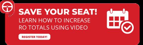 Enregistrez votre siège - Webinaire vidéo