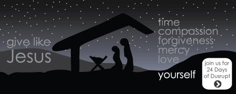 Give Like Jesus: time, compassion, forgiveness, mercy