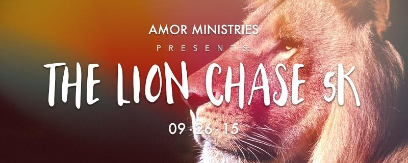 Amor Presents The Lion Chase 5K 9-26-15