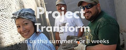 Project Transform give your summer to experience a radical transformation