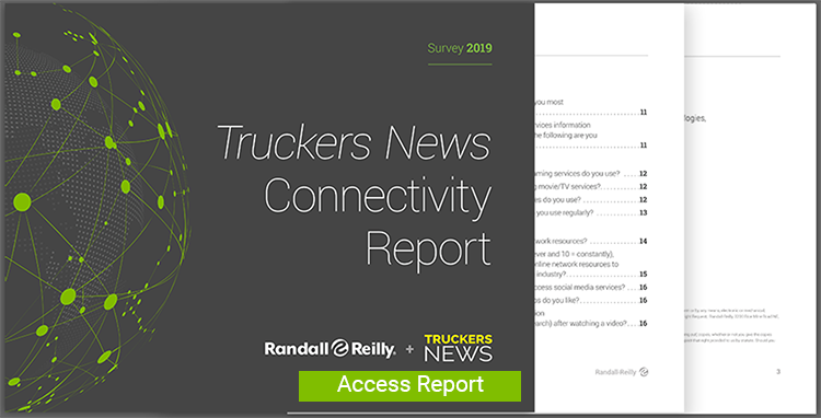 2019 Truckers News Connectivity Report