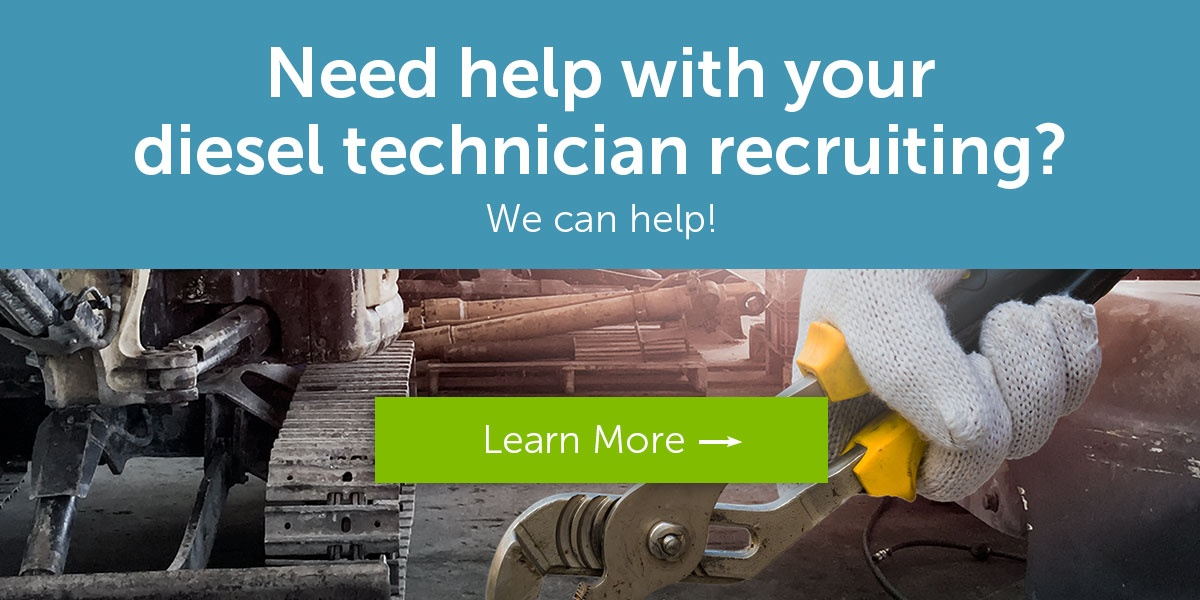 Want to recruit diesel techs? Contact us today.