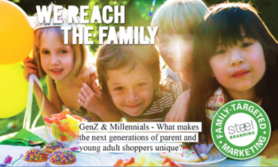 presentation on Gen Z & Millennials - What makes the next generations of parent and young adult shoppers unique?