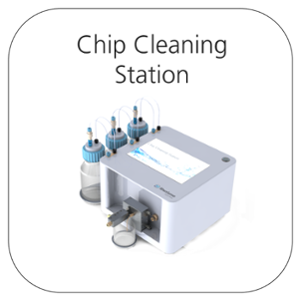 Chip cleaning station - customer Portal