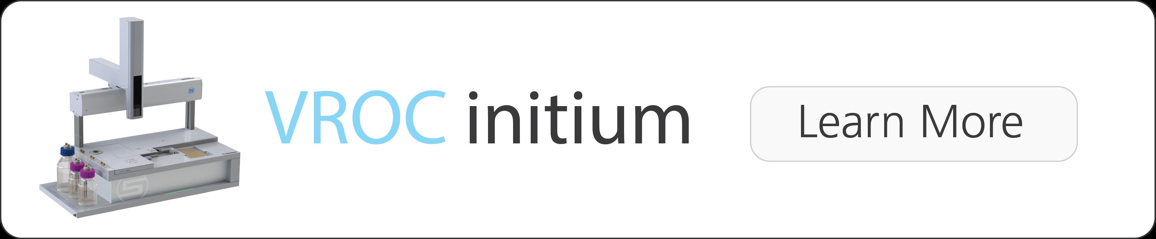 VROC initium Viscometer - Automatic, High-Throughput Viscosity Mesurements