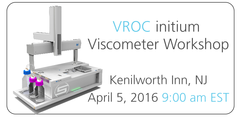 VROC initium Workshop - New Jersey April 5, 2016 at 9:00 am