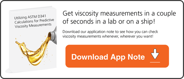 Download our app note on how microVISC-m viscometer utilizes ASTM D341 Calculations for viscosity measurements.