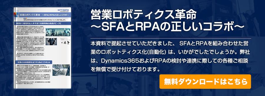 営業ロボティクス革命 ~SFAとRPAの正しいコラボ~