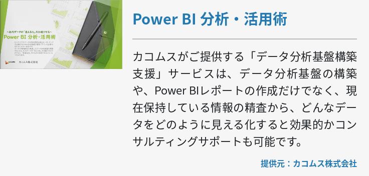 Power BI 分析・活用術