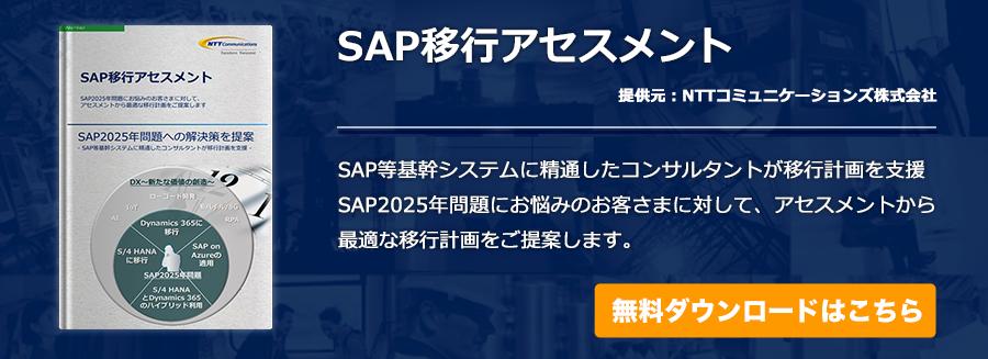 SAP移行アセスメント