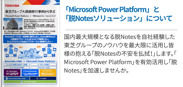アフターコロナ対策に!「Microsoft Power Platform」