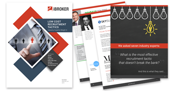 iBroker Resource - The Best Low Cost Recruitment Tactics