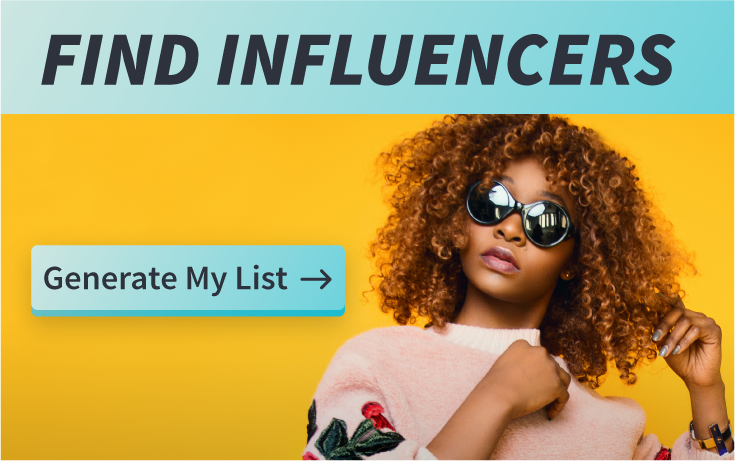 Influencer List Tool