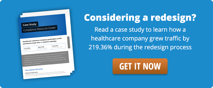 Case study download on how to optimize the redesign process.