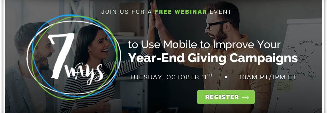 Join us for a free webinar with BidPal on Year-End Giving Campaigns