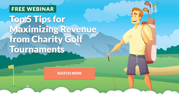 WEBINAR: Top 5 Tips for Maximizing Revenue from Charity Golf Tournaments