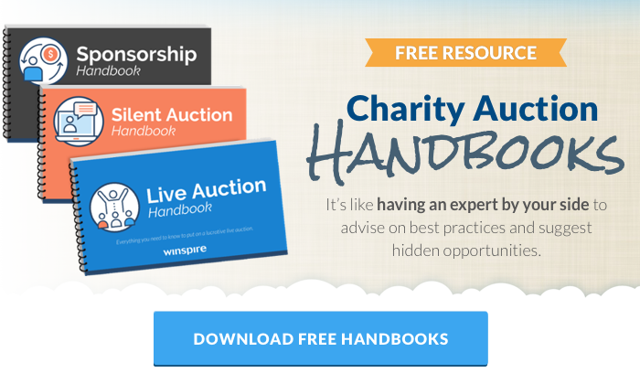 Download free charity auction handbook series.
