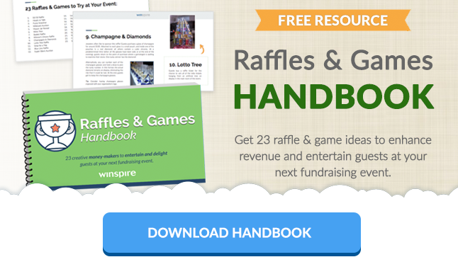 Download handbook: 23 raffle and games ideas