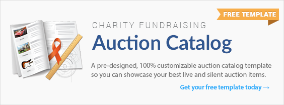 Charity Auction Catalog Ebook